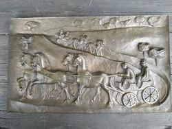 Kampfl Jòzsef kèpcsarnok bronz