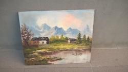 Parányi festmény