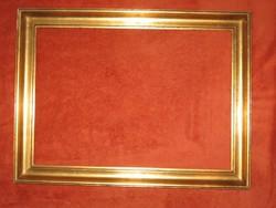 RÉGI GYÖNYÖRŰ ARANY KÉPKERET  40 cm x 28,5 cm
