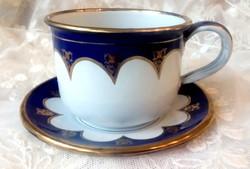 Régi zománcos nagy csésze