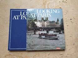 Looking at Paris - angol nyelvű könyv