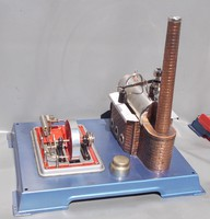 Wilesco retro toy steam engine in original box