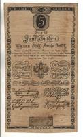 5 forint / gulden 1806 Ritka 5. Eredeti állapot
