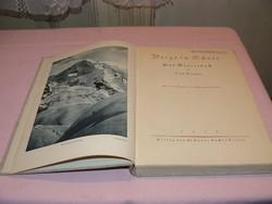 Gót betűs ! Luis Trenkel Berge im Schnee (Hófödte hegyek)
