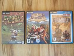3 db PC játék