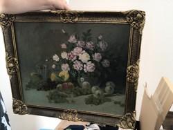 Galgóczy Endre festőművész olaj festménye