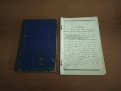Dr. Katona Dávid - féle, szegedi, régi (1927-1946) gyorsíró könyv, füzet eladó