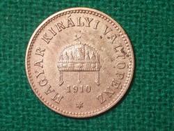 2 Fillér 1910 !