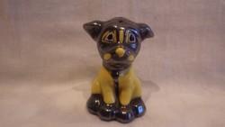 Régi TMK 1 Hummel porcelán kutya sószóró , jelzett , számozott