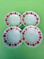 Alföldi napocskás kávéscsésze alátét tányérok 4 db.