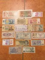 Vegyes papír pénz