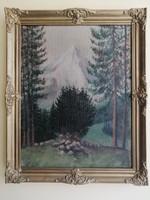 Olaj-vászon tájkép / festmény