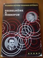 Dedikált Szepesi György könyv