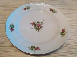 Német Bavaria porcelán dísz tányér