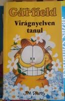 Jim Davis: Garfield, virágnyelven tanul, képregény, alkudható