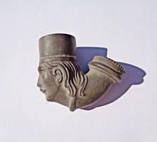 Heller F. Budapest jelzéssel antik pipa