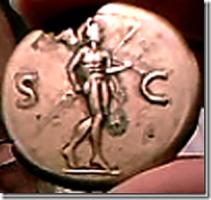 Vitellius AE Sestertius. Római verde, AD 69. 34mm, 26,89g. ... mesebeli fejoldal.
