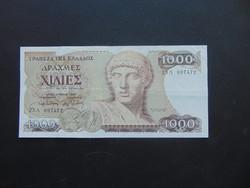 1000 drachma 1987 Görögország Szép ropogós bankjegy