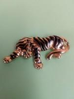 Retró leopárd kabát bross 217.