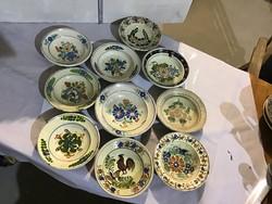 Régi erdélyi tányérok 2