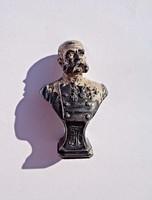 Osztrák miniatűr Ferenc József mellszobor