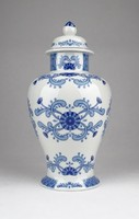 0Y490 Régi kék-fehér Unterweissbach 21.5 cm