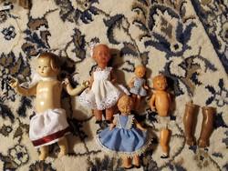 Antik babaházi babák