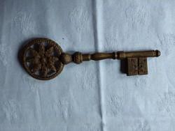 Réz dísz kulcs