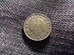Németország Horogkeresztes 1 Reichspfennig 1942 B / id 12118/