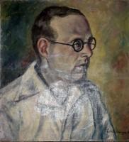 Schönberger Armand: Férfi portré