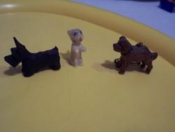 Extra mini faragott kutya,nyúl, és barackmag faragás+ 2majom