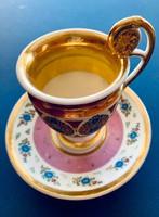 Párizsi antik csésze aljjal