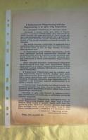 1956-os Röplap,Prága, 1956.nov.3.