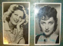 Szörényi Éva, Lukács Margit dedikált képeslapok