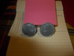 Horthy ,Bal profilos 5 pengős Alúmínium 2-darab
