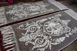 Antik rece csipke páros függöny figurás mintával szecesszió 270cm