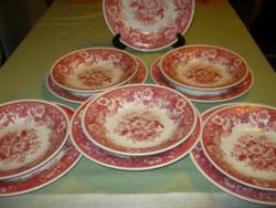 Villeroy & Boch  tányérok 11 db Pink Balmoral