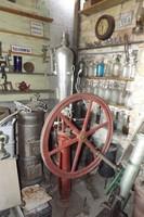 Ritka szép Eredeti 1899 szódás szóda szikvíz szódatöltő készítő gép + 1db hiányos