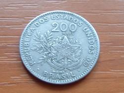 BRAZÍLIA BRASIL 200 REIS MCMI (1901) #
