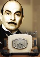 """""""Poirot Art deco kandallóórája"""""""