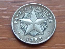 KUBA 1 PESO 1983 #