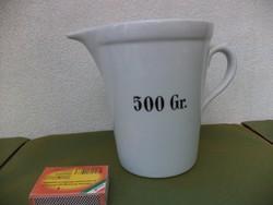Zsolnay porcelán mérő kiöntő 500