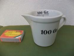 Zsolnay porcelán mérő pohár 100