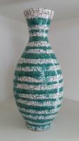 Gorka Géza: csíkos váza nagy méretű