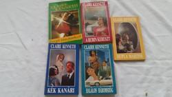 Claure Kenneth  5 db romantikus könyv eladó!