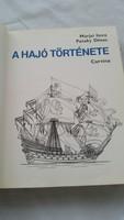 A hajó története könyv eladó!