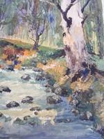 Ede József Olaj vászon festmény