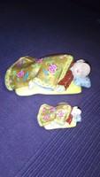 Herendi alvó kínai figurák