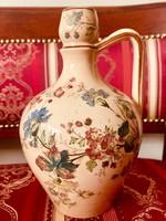 Antik Steidl Znaim Zsolnay Fischer (?) füles kancsó, váza, korsó