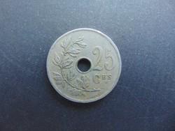 25 cent 1927 Belgium